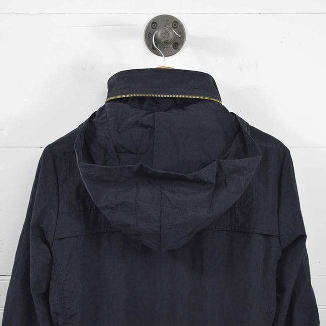 7 For All Mankind #wind Breaker Hardware #casual #fall #nylon BLUE/ GOLD Jacket Image 5
