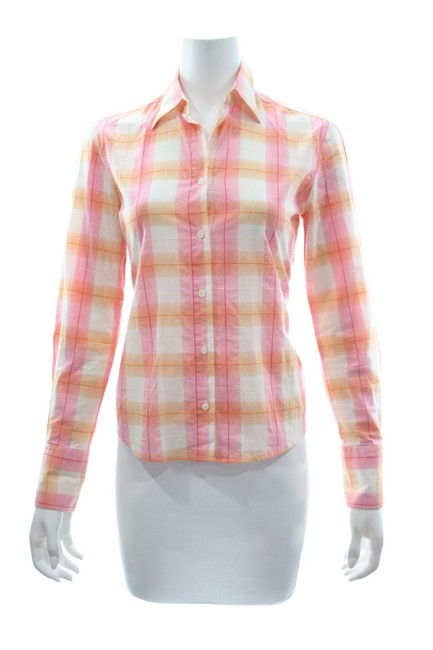 Preload https://img-static.tradesy.com/item/25495363/checkered-cotton-shirt-small-button-down-top-size-4-s-0-0-650-650.jpg