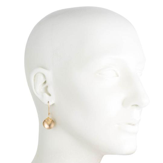Alexis Bittar New Alexis Bittar Origami Inlay Dangling GOLD Sphere Drop Earring Image 1