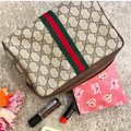 Gucci Vintage Vintage Vintage Vintage Purse Ophidia Brown Clutch Image 11