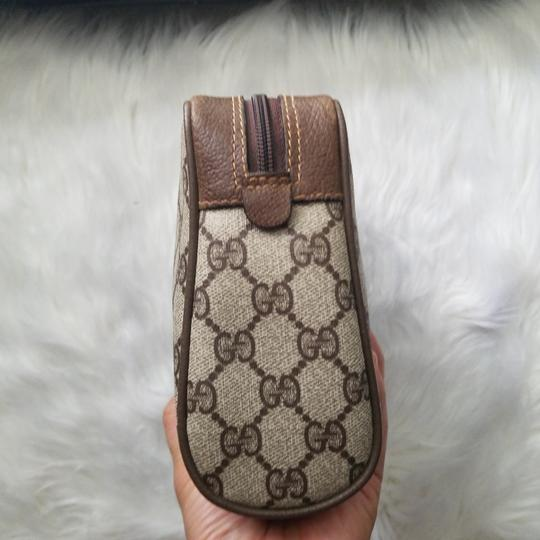 Gucci Vintage Vintage Vintage Vintage Purse Ophidia Brown Clutch Image 4