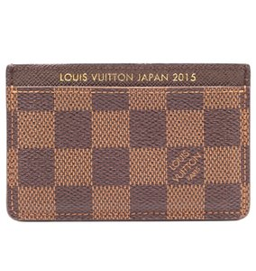 Louis Vuitton Japan 2015 Classic card case credit wallet business pass case