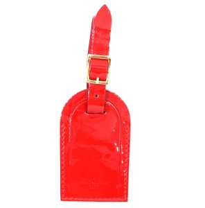 Louis Vuitton Vernis Leather Luggage Tag for monogram vernis bag alma speedy