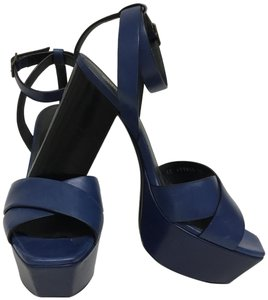 Saint Laurent Navy Sandals