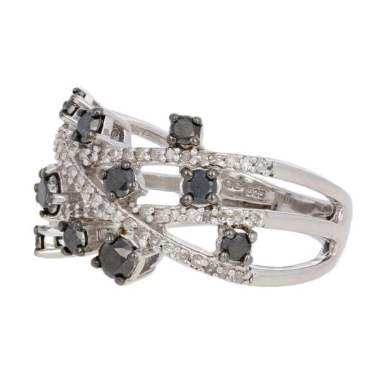 Other NEW 1.00ctw Single Cut Diamond Ring - Sterling Silver E3998 Image 1