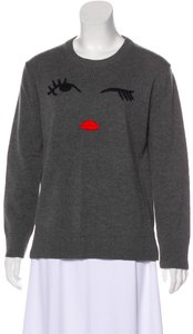 Kate Spade Embroidered Pristine Condition Wool Sweater