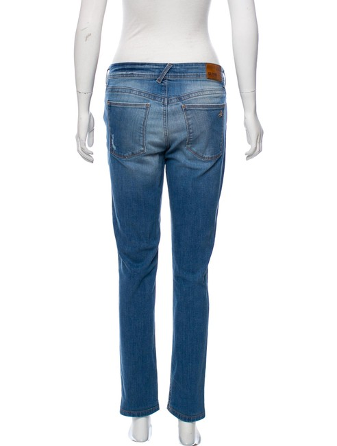DL1961 Distressed Mid-rise Excellent Condition Skinny Jeans-Distressed Image 2