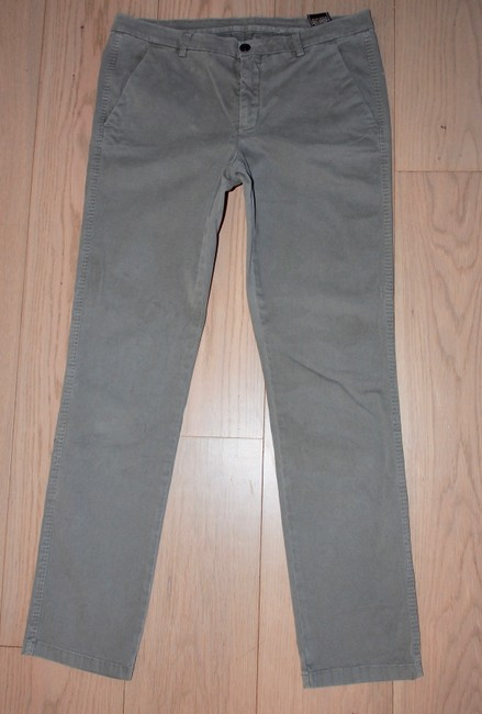 7 For All Mankind Boot Cut Pants Grey Image 2