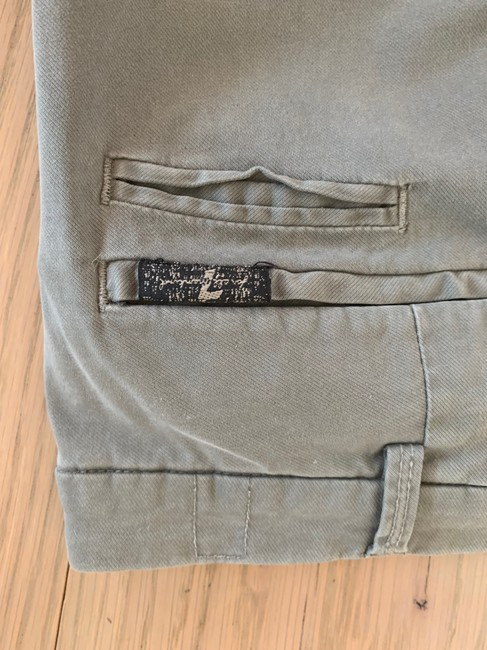 7 For All Mankind Boot Cut Pants Grey Image 6