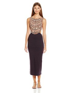 Mara Hoffman Necklace Cut-out Fitted Midi Dress