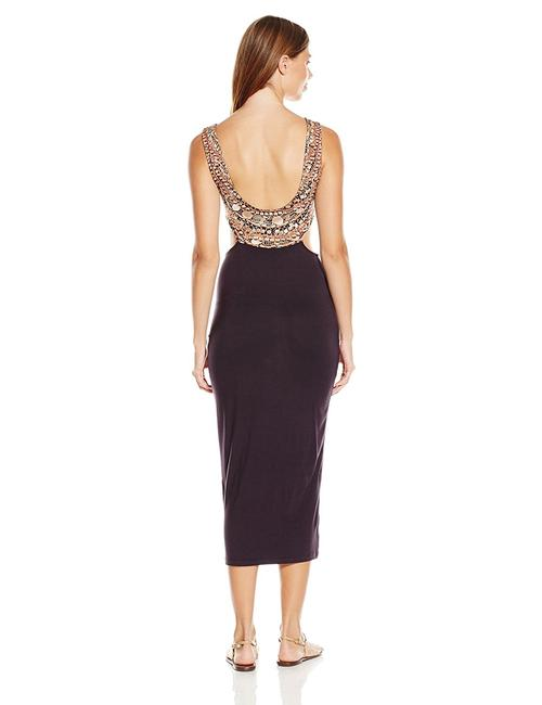 Mara Hoffman Necklace Cut-out Fitted Midi Dress Image 1