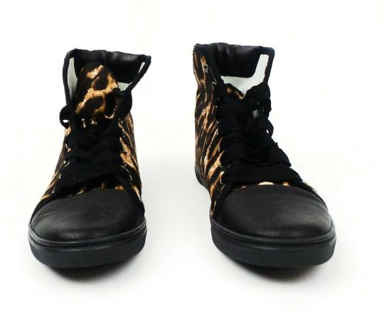 Lanvin Leopard Hi-top Brown / Black Athletic Image 1