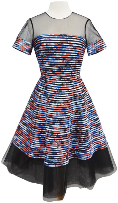 Preload https://img-static.tradesy.com/item/25495792/sachin-babi-blue-and-orange-print-mid-length-formal-dress-size-4-s-0-1-650-650.jpg