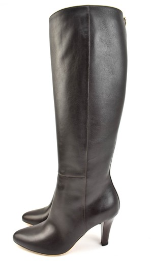 Gucci Tall Logo Brown Boots Image 2