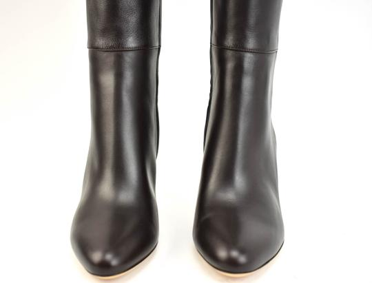 Gucci Tall Logo Brown Boots Image 4