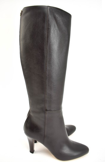 Gucci Tall Logo Brown Boots Image 5