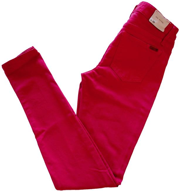 Item - Red Medium Wash The Skinny Jeans Size 28 (4, S)