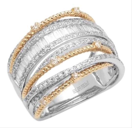 Preload https://img-static.tradesy.com/item/25496009/effy-mixed-metal-yellow-gold-and-white-gold-stunning-two-toned-ring-0-2-540-540.jpg