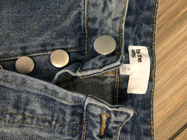 By The Way Relaxed Pants Denim Image 2