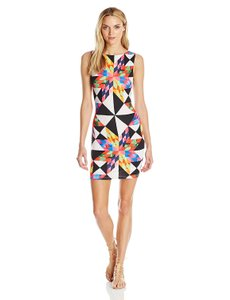Mara Hoffman Cut-out Back Fitted Mini Dress
