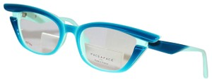 Bocca Face A Face New Face A Face Bocca Stars 1 Col. 2259 turquoise and blue Eyeglasses