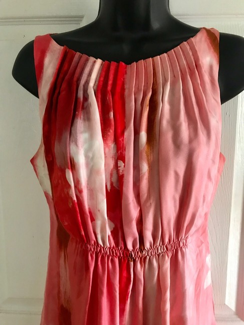 Suzi Chin for Maggy Boutique short dress pink and red on Tradesy Image 1