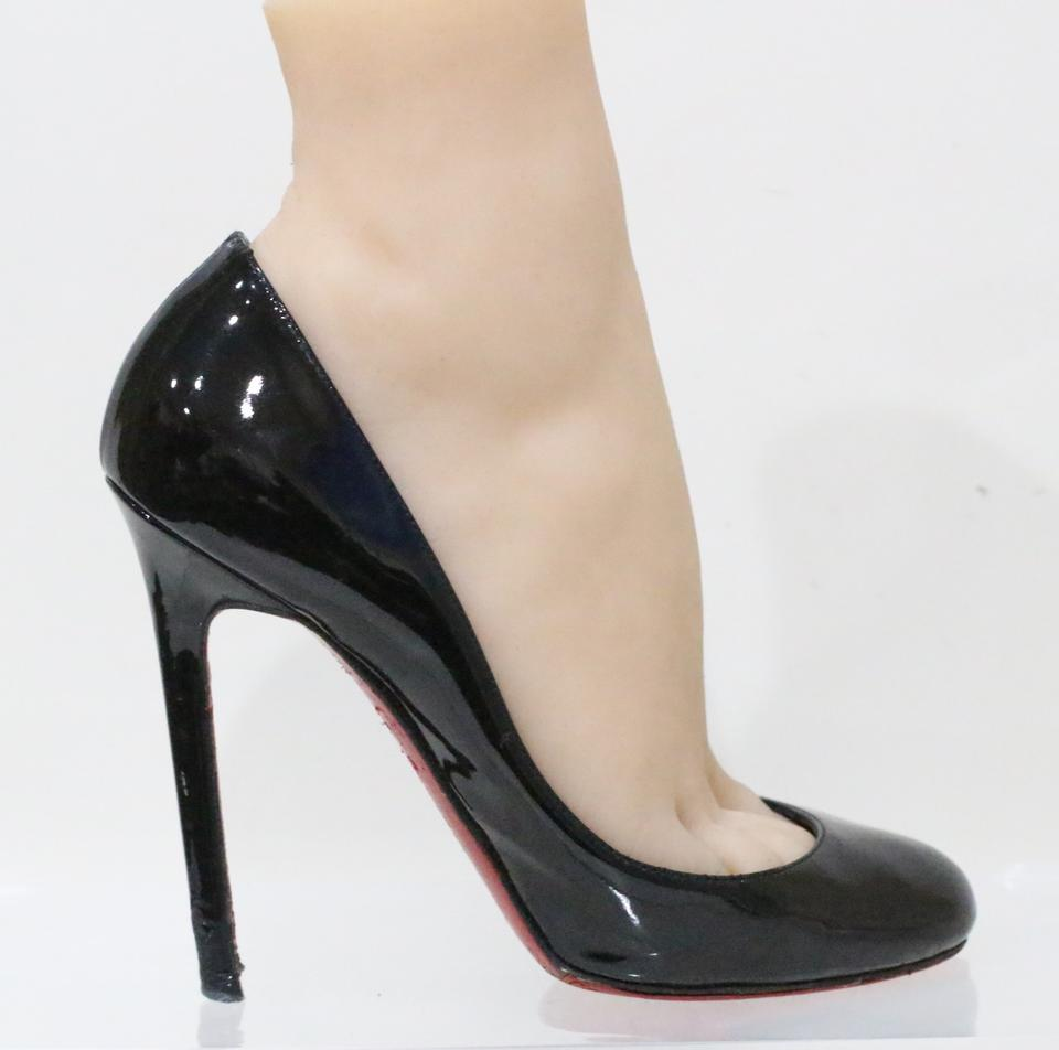 5c0e46c00e1 Christian Louboutin Black Lady Lynch Patent Leather Pumps Size EU 36  (Approx. US 6) Regular (M, B) 62% off retail