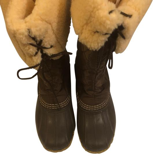 Preload https://img-static.tradesy.com/item/25496274/llbean-brown-women-s-rubber-and-quilted-fleece-lined-bootsbooties-size-us-6-regular-m-b-0-1-540-540.jpg