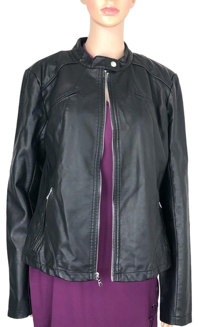 Guess Leather Jacket Image 0