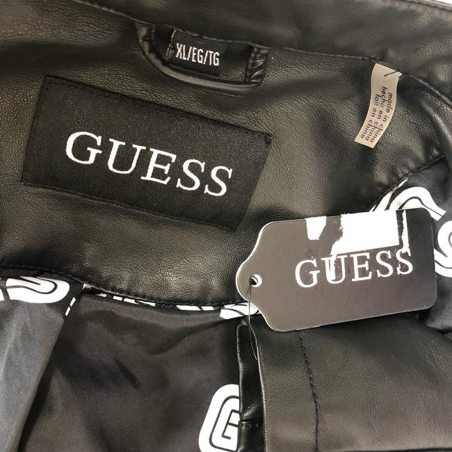 Guess Leather Jacket Image 10