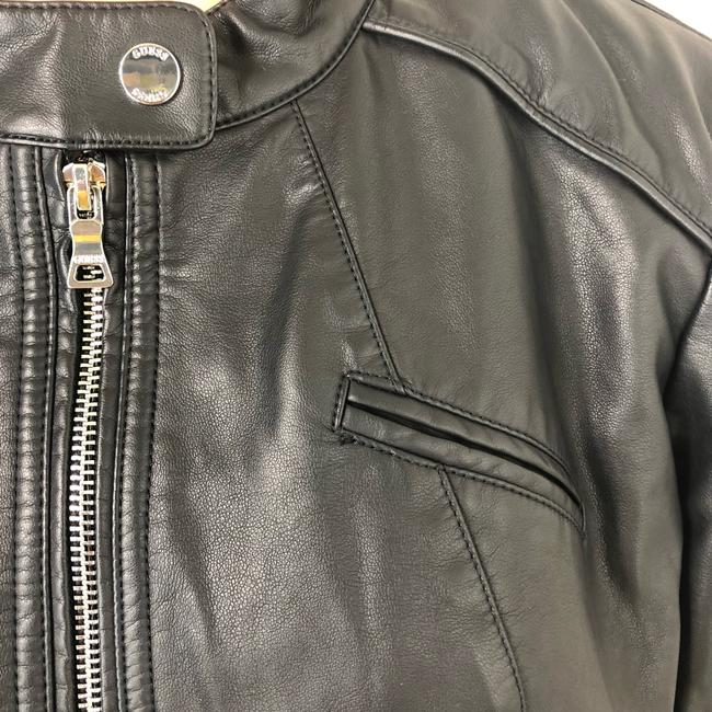 Guess Leather Jacket Image 9