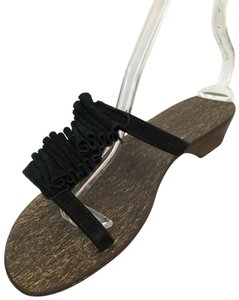 Sotto Sopra black Sandals