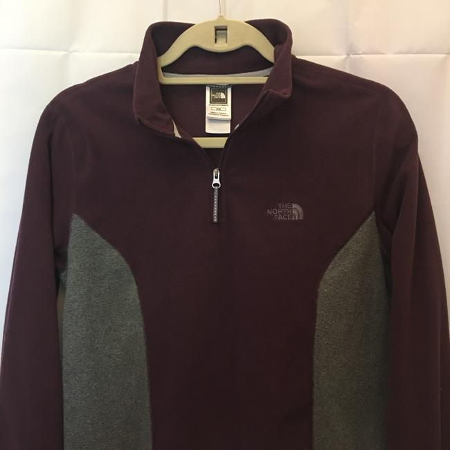 The North Face Half Zip Shirt Fleece Long Sleeve Fleece Size M Medium Sweatshirt Image 1
