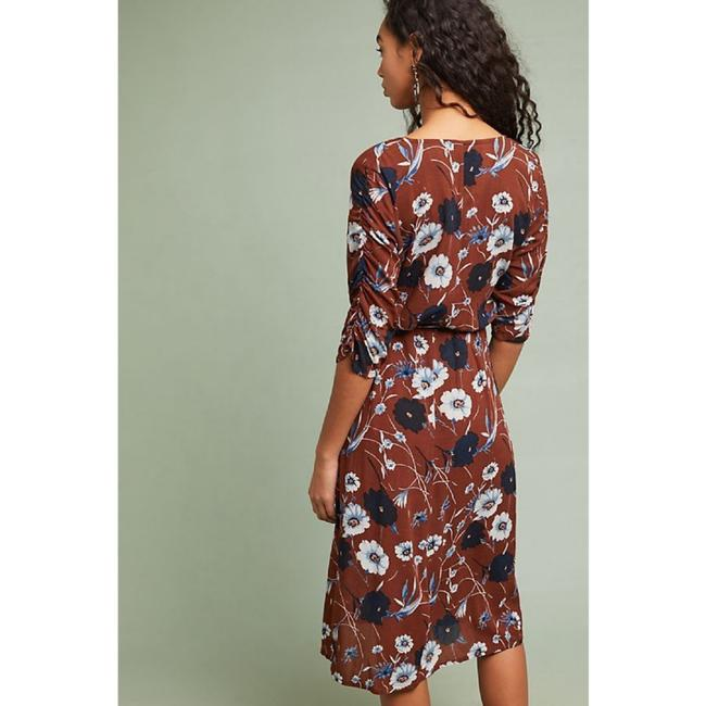 Anthropologie - Faithfull Wrap Midi Aberdeen Dress Image 5