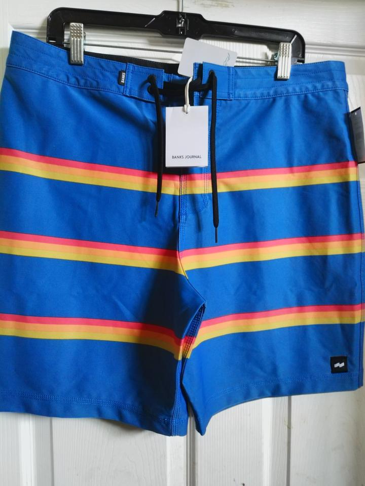 cd9435e33e Banks Journal Sz 34 men's NWT Banks Journal swimming trunks Image 0 ...