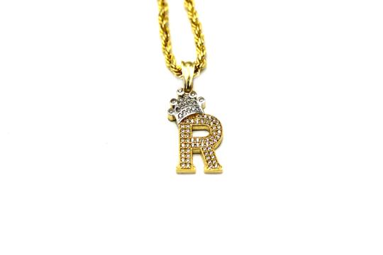Preload https://img-static.tradesy.com/item/25496447/2008-10k-yellow-gold-cz-letter-r-with-rope-chain-necklace-0-0-540-540.jpg