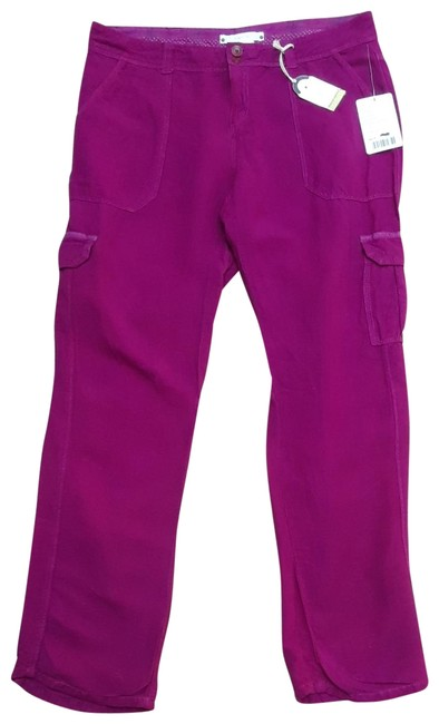 Anthropologie Hei Hei Valmai Cargo Pants Purple Image 1