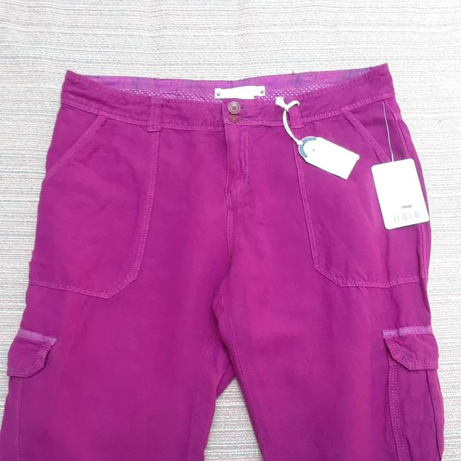 Anthropologie Hei Hei Valmai Cargo Pants Purple Image 3