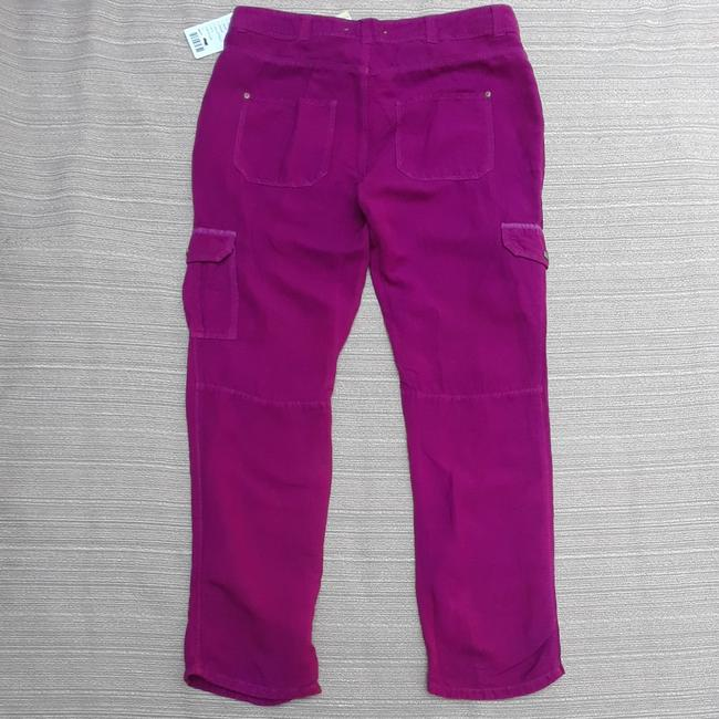 Anthropologie Hei Hei Valmai Cargo Pants Purple Image 4