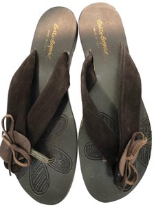 sotto sopra brown Sandals