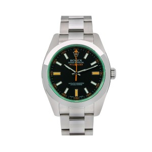 Rolex Rolex Milgauss 116400V 40MM Black Dial With Stainless Steel Oyster