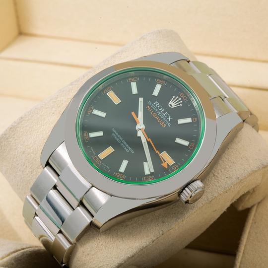 Rolex Rolex Milgauss 116400V 40MM Black Dial With Stainless Steel Oyster Image 1
