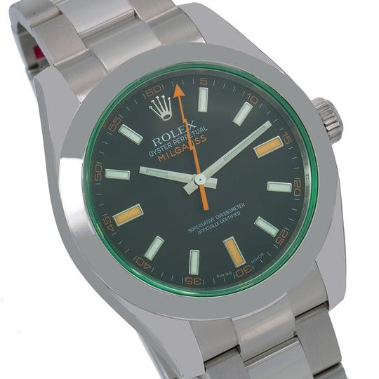 Rolex Rolex Milgauss 116400V 40MM Black Dial With Stainless Steel Oyster Image 2