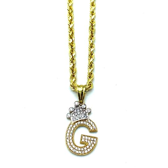 Preload https://img-static.tradesy.com/item/25496595/2008-10k-yellow-gold-rope-chain-with-initial-g-charm-necklace-0-0-540-540.jpg
