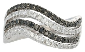 Other NEW 5/8ctw Single Cut Diamond Ring - Sterling Silver Curved E3989