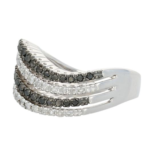 Other NEW 5/8ctw Single Cut Diamond Ring - Sterling Silver Curved E3989 Image 1