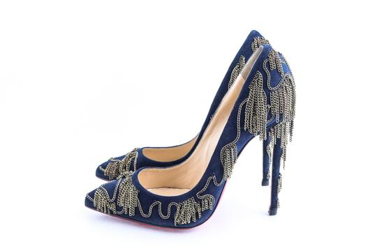 Christian Louboutin Blue Pumps Image 2