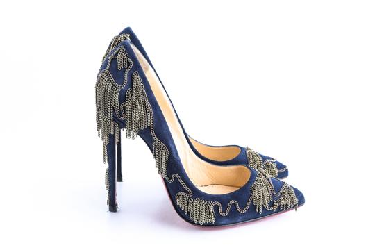 Christian Louboutin Blue Pumps Image 3