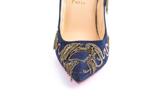 Christian Louboutin Blue Pumps Image 7
