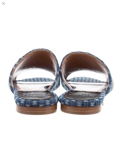 Laurence Dacade Blue denim and multicolor flowers Sandals Image 1